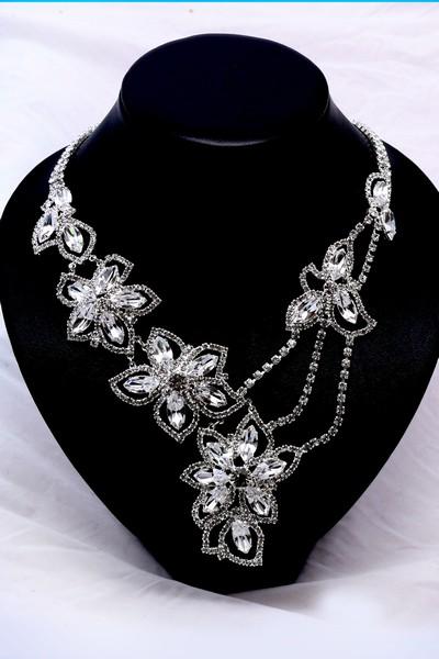 0152f1a02 Štrasový náhrdelník. 001036 - Arconbijoux.cz