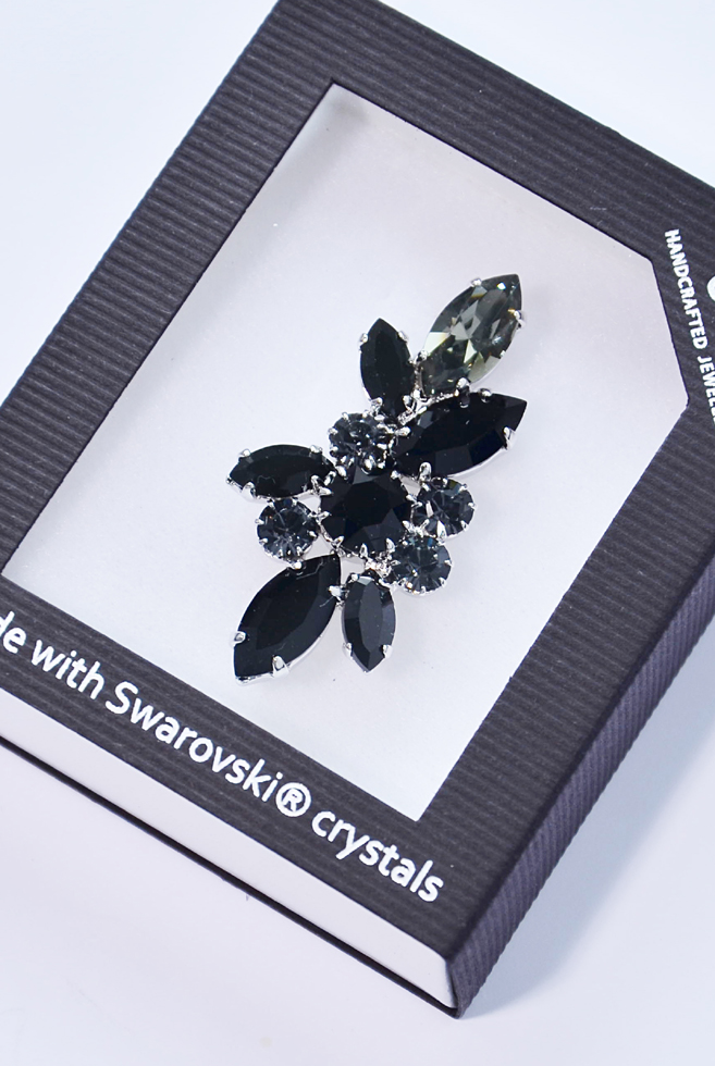 Swarovski Elements brož SW71887/8